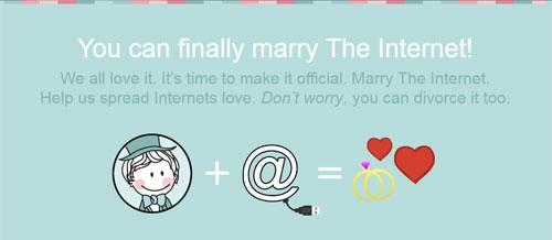 MarryTheInternet deisgn